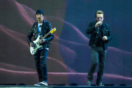 Irish legends U2