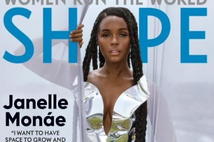 Janelle Monae for Shape magazine