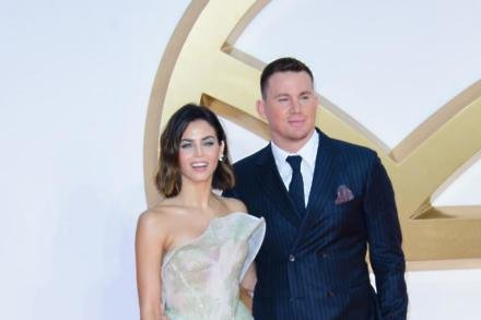 Channing Tatum and Jenna Dewan