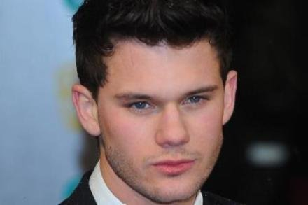 Jeremy Irvine at the BAFTA Awards