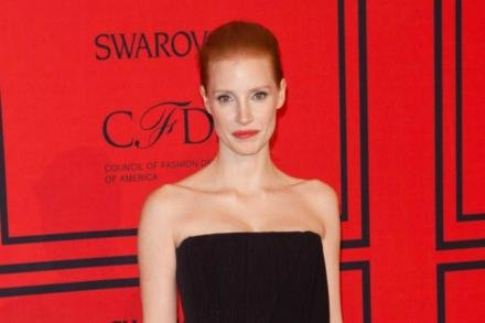 Jessica Chastain at the CFDA Awards