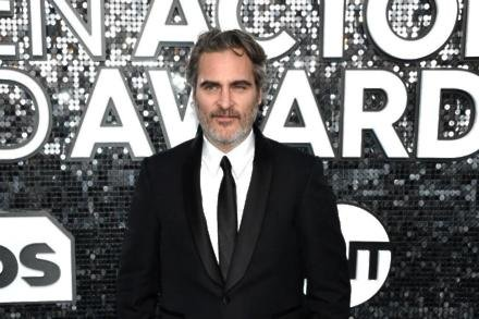 Joaquin Phoenix at the SAG Awards