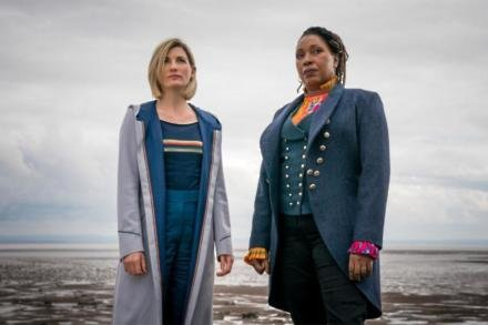 Jodie Whittaker and Jo Martin