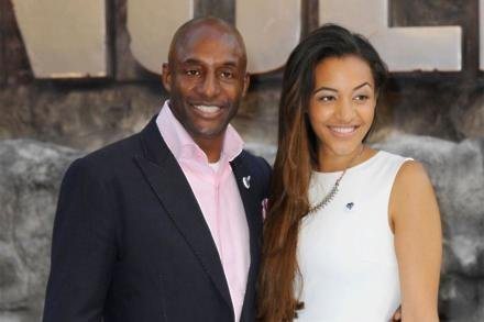 John Fashanu and his daughter Amal