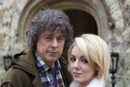 Jonathan Creek and assistant Joey Ross (Sheridan Smith)