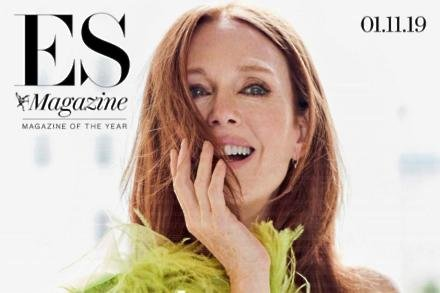 Julianne Moore on ES Magazine cover