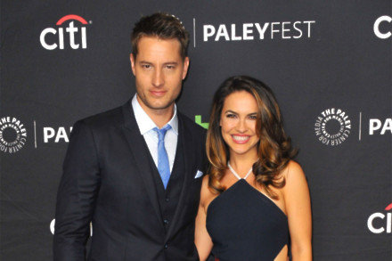 Justin Hartley and Chrishell Shause