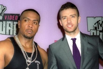 Timbaland and Justin Timberlake in 2007
