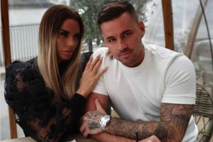 Katie Price and Carl Woods (C) Instagram