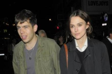 Keira Knightley with James Righton