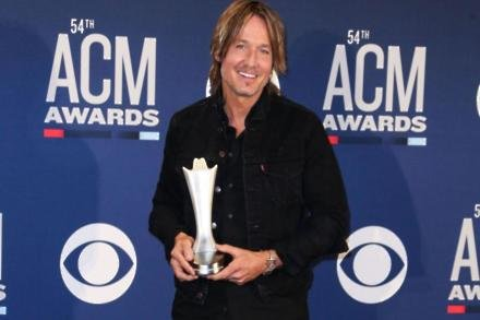 Keith Urban at ACM Awards 2019