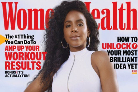 Kelly Rowland on Women's Health magazine