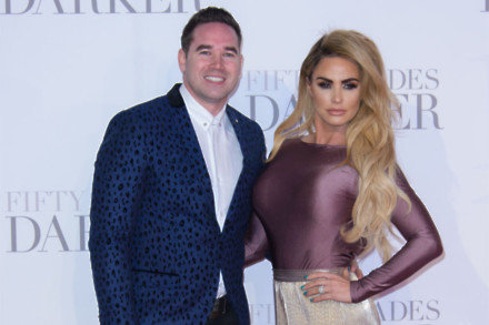 Kieran Hayler and Katie Price in 2017