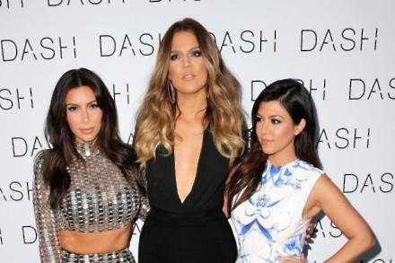 Kim Kardashian West, Khloe Kardashian, and Kourtney Kardashian