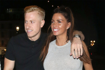 Kris Boyson with Katie Price in 2018
