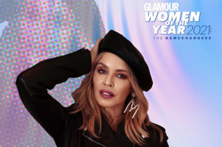 Kylie Minogue for GLAMOUR Women of the Year Awards