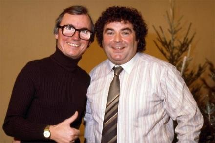 Eddie Large with Syd Little