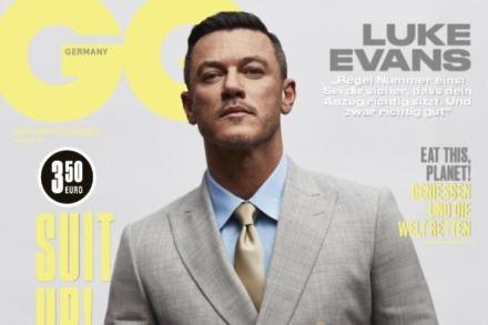 Luke Evans for GQ Germany