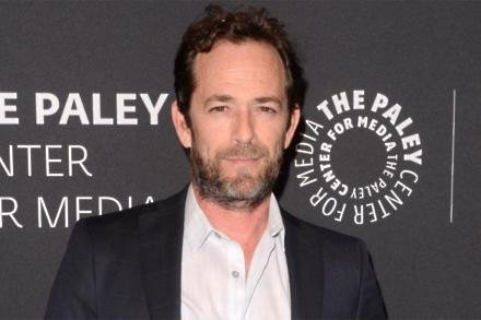 The late Luke Perry