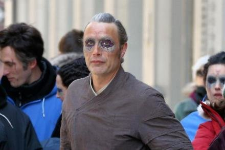 Mads Mikkelsen on Dr. Strange set in New York