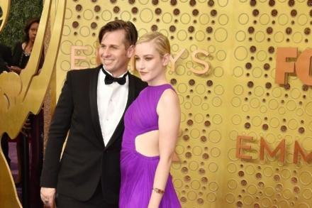 Mark Foster and Julia Garner