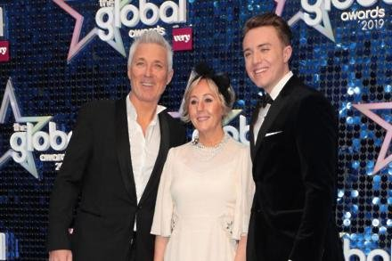 Martin and wife Shirlie Kemp with son Roman Kemp