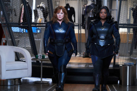 Melissa McCarthy and Octavia Spencer in Thunder Force
