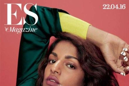 M.I.A on ES Magazine cover