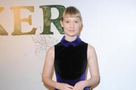 Mia Wasikowska at the Stoker special screening