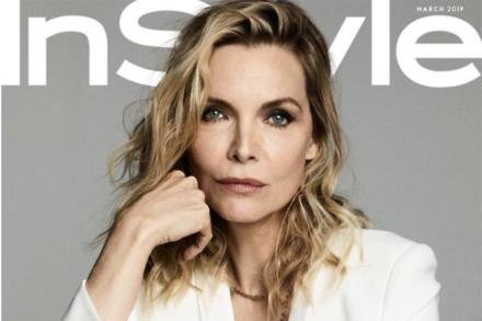 Michelle Pfeiffer for InStyle magazine