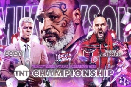 Mike Tyson for AEW's TNT Championship