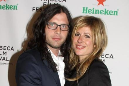 KoL drummer Nathan Followill with Jessie Baylin