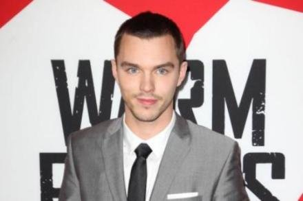 Nicholas Hoult at the Los Angeles premiere of 'Warm Bodies'