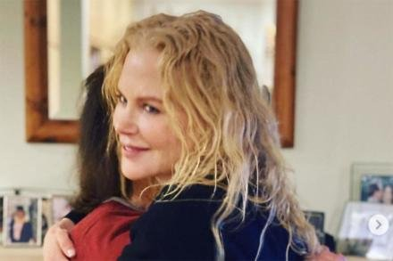 Nicole Kidman and her mom (c) Instagram