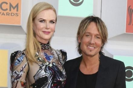 Nicole and husband Keith Urban at the ACM Awards