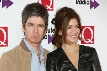 Noel Gallagher with wife Sara McDonald