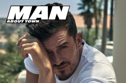 Orlando Bloom covers Man About Town