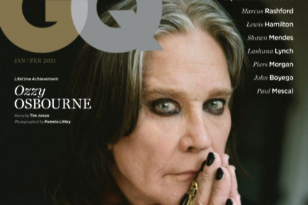 Ozzy Osbourne for GQ magazine (c) Pamela Littky