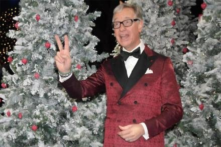 Paul Feig at Last Christmas premiere