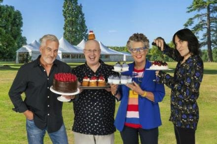 Paul Hollywood, Matt Lucas, Prue Leith and Noel Fielding