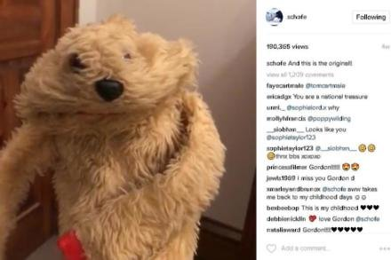 Phillip Schofield finds Gordon the Gopher