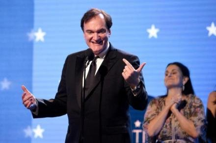Quentin Tarantino at the 2020 Critics' Choice Awards