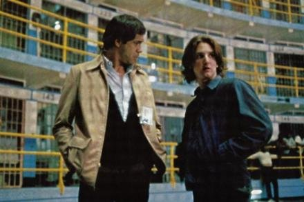 Reni Santoni (left) and Sean Penn in Bad Boys