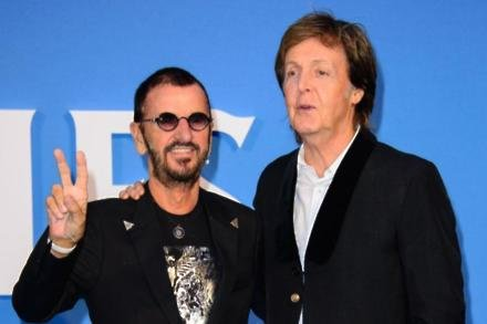 Sir Ringo Starr and Sir Paul McCartney