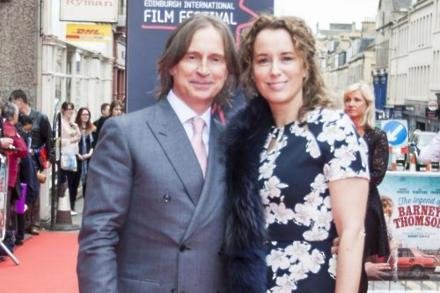 Robert Carlyle with partner Anastasia Shirley