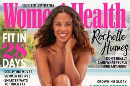 Rochelle Humes for Women's Health magazine