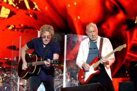 Roger Daltrey and Pete Townshend