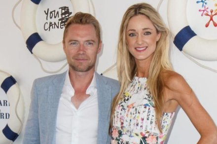 Ronan Keating with new wife Storm