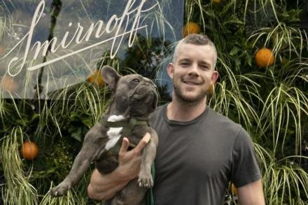 Russell Tovey and Rocky