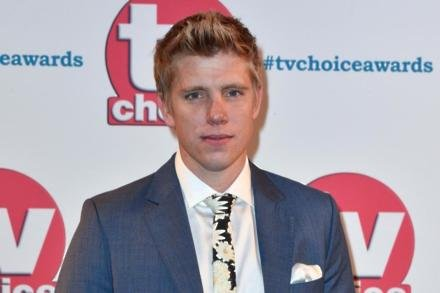 Ryan Hawley at the TV Choice Awards